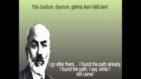 Seyfi Baba - Mehmet Akif Ersoy - Safahat-0