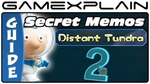 Pikmin 3 - Secret Memos Distant Tundra (Wii U)-0