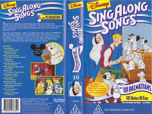 Sing Along Songs be Our Guest Vhs Sing-along-songs-101-notes-of