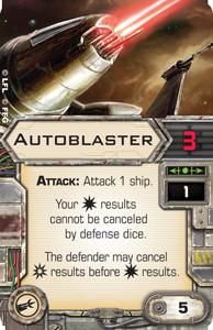 Autoblaster X Wing Miniatures Wiki