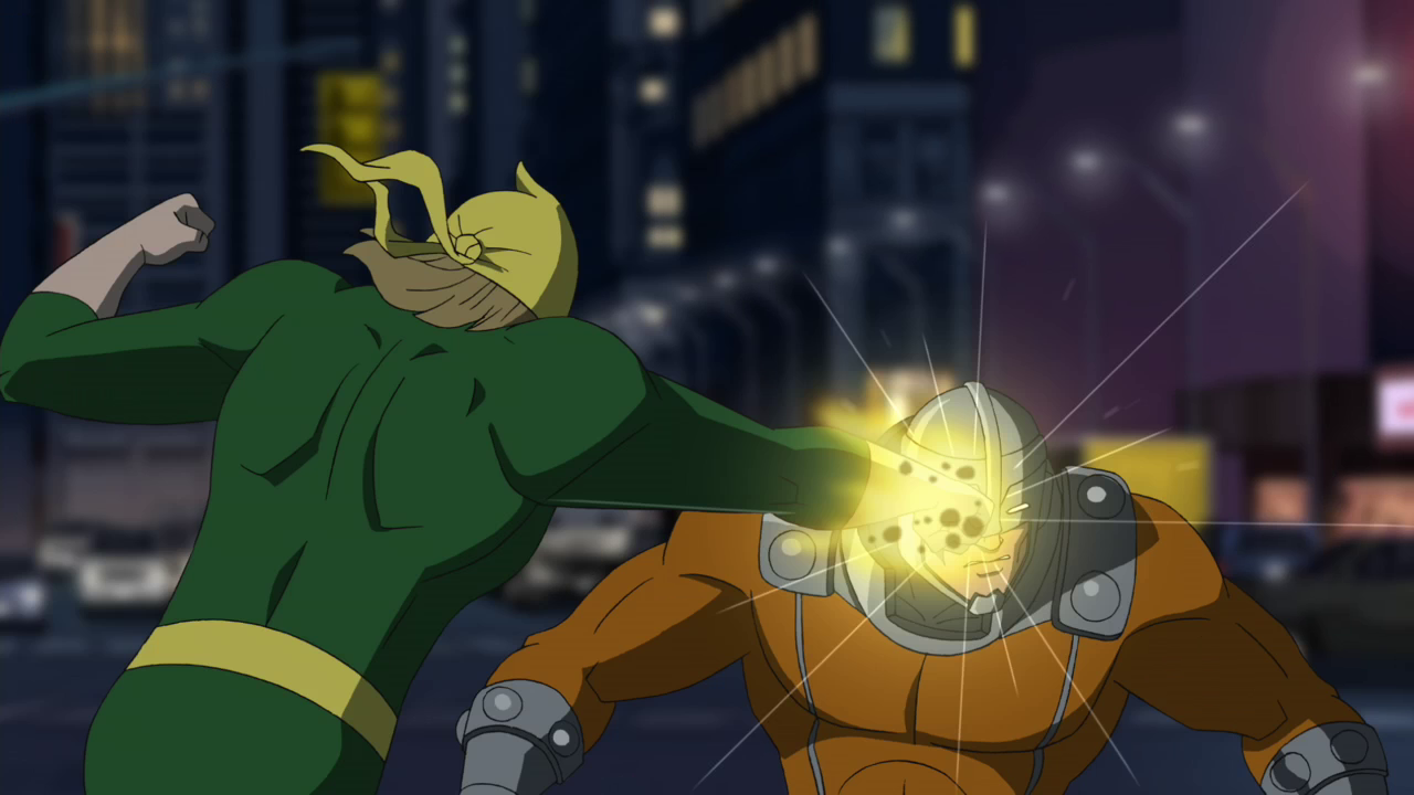 power man told him to just ignore it iron fist agreed with power manUltimate Spider Man Tv Series Black Cat