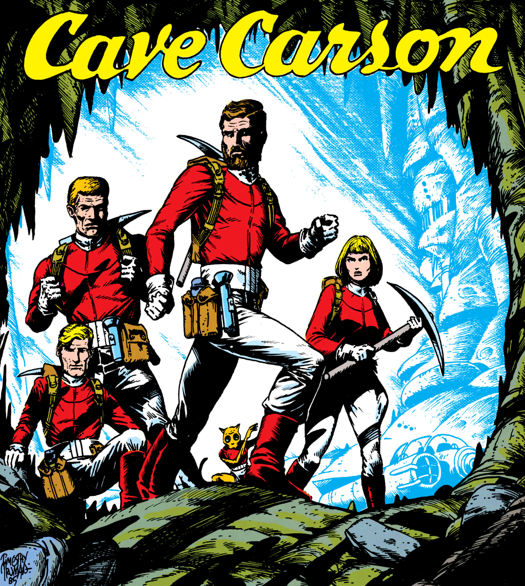Cave carson 39 s team dc comics database for The carson