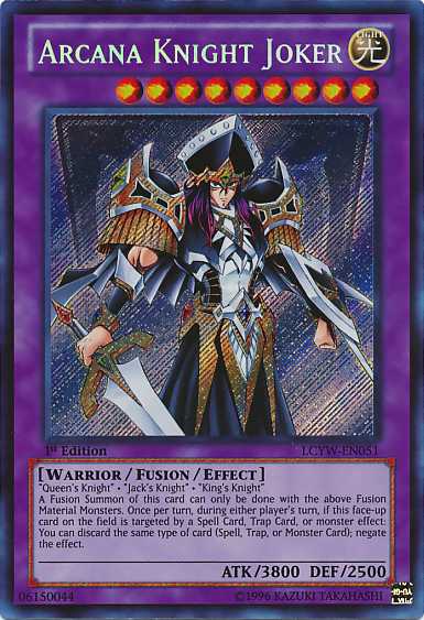 Arcana knight joker yu gi oh it s time to duel