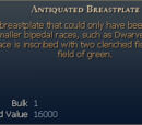 Antiquated Breastplate