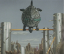 Gamera - 5 - vs Guiron - 37 - Gamera The Gymnastic Turtle.png
