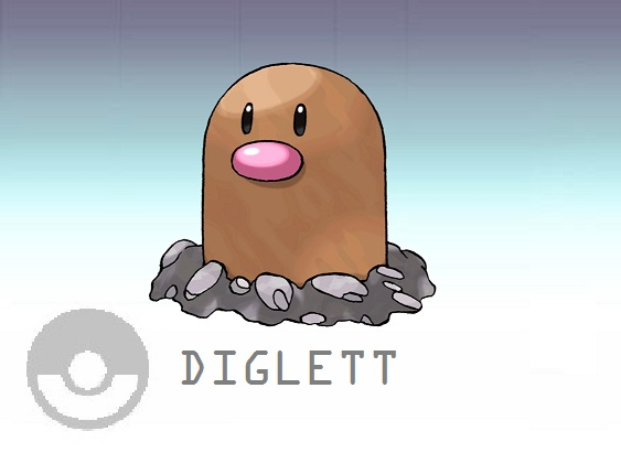 Diglett - World of Smash Bros Lawl Wiki Wailord And Diglett
