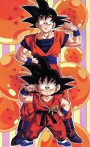 Goku (etapas)