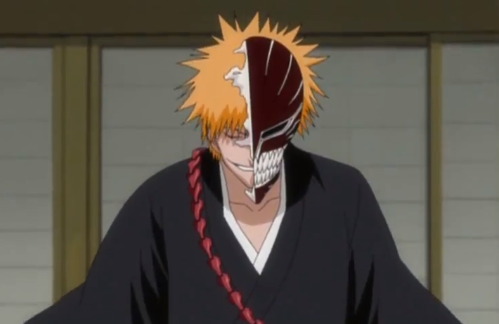 Full Hollow Ichigo Ichigo Stands as Hollow Ichigo