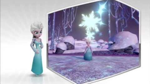 Disney Infinity - Elsa Character Gameplay - Series 2