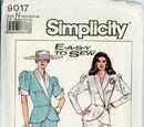 Simplicity 9017 A