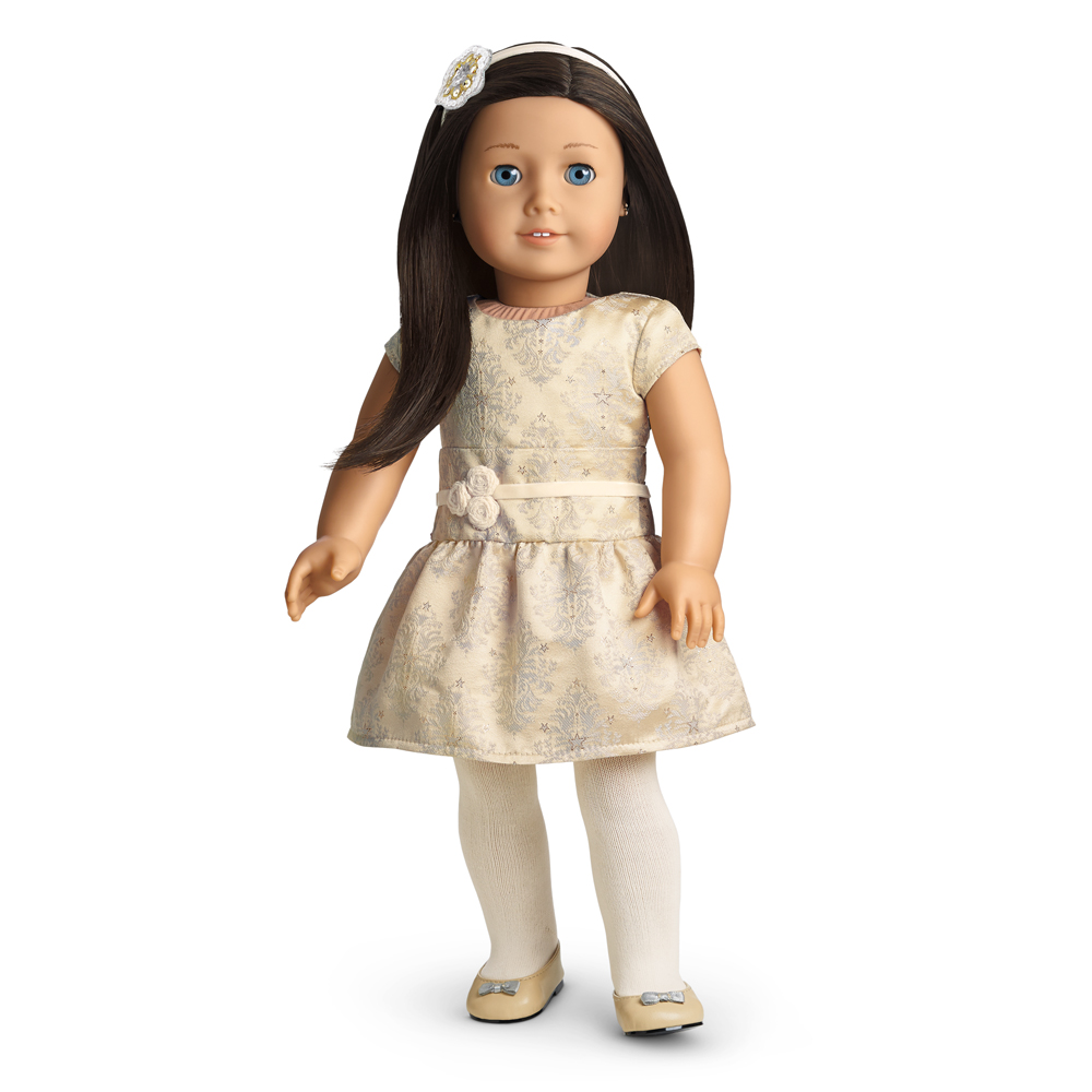 American Girl Christmas Dress