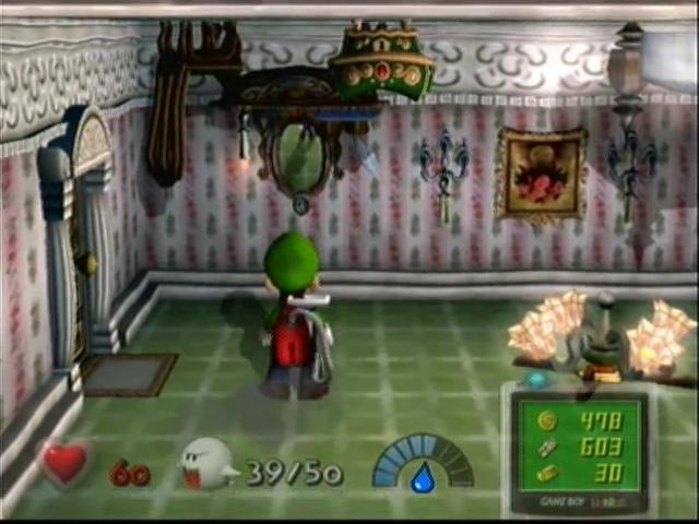 Luigi S Mansion Upside Down Room