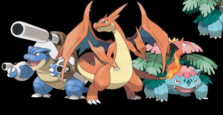 pokemon kanto starters mega - photo #14