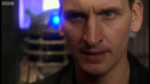 The Last Dalek in the Universe - Doctor Who - Series 1 Dalek - BBC