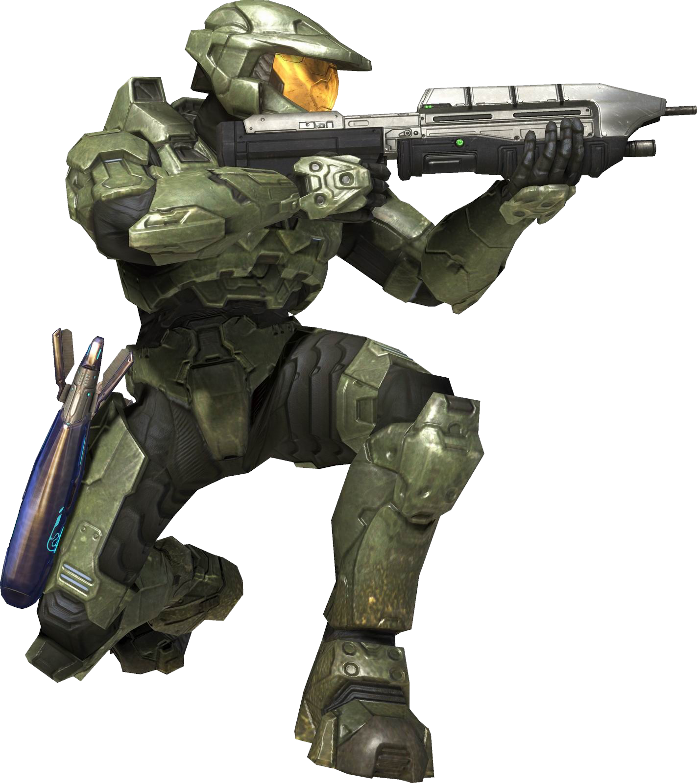Image - H3 MasterChief Crouch.png - Halo Nation — The Halo ...