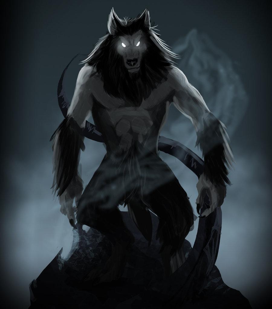Demon werewolf skyrim - photo#14