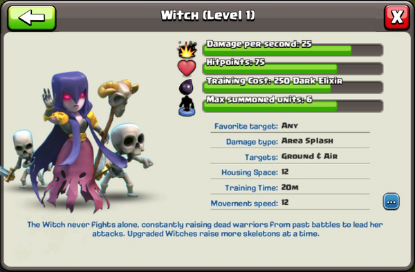 Witch - Clash of Clans Wiki