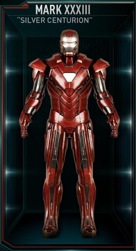 Xxxiii Iron Man Armor MK XXXI...