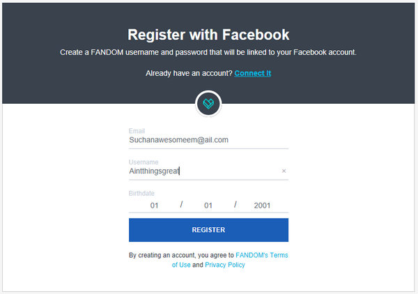 how to create a facebook community account