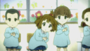 Yui playing castanets in kindergarten.png