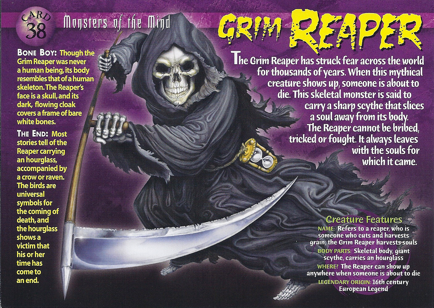 twisted mind of the grim reaper