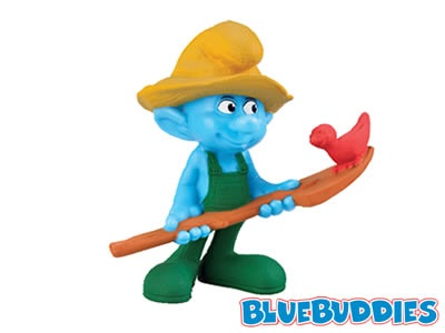 Image - The Smurfs happy meal farmer.jpg - Smurfs Wiki