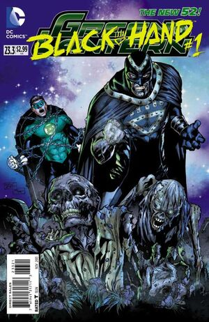 Cover for Green Lantern #23.3: Black Hand (2013)
