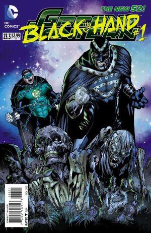 Cover for Green Lantern #23.3: Black Hand (2013)