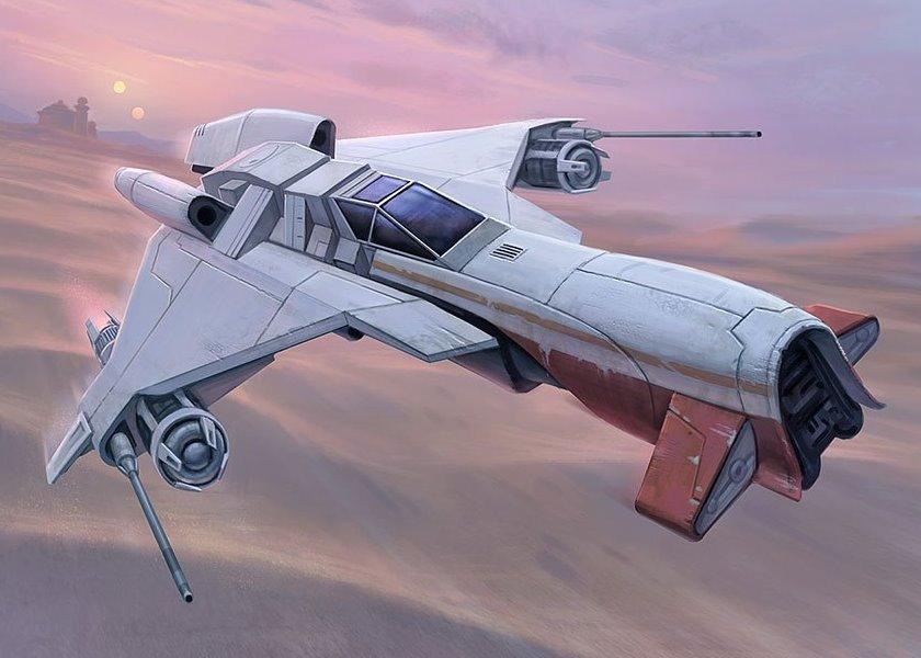 H-Wing KihraxzAssaultFighter-TCGEFH