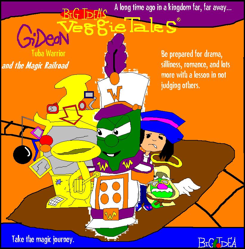 Veggietales Esther The Girl Who Became Queen Gideon: Tuba Warrior a...