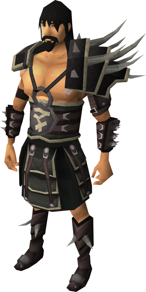 Lucky Bandos equipment equipped