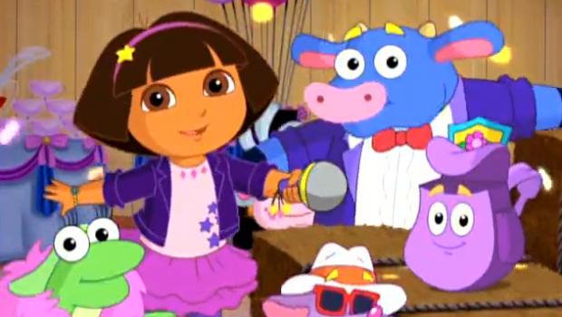 Dora Rocks Dora The Explorer Wiki