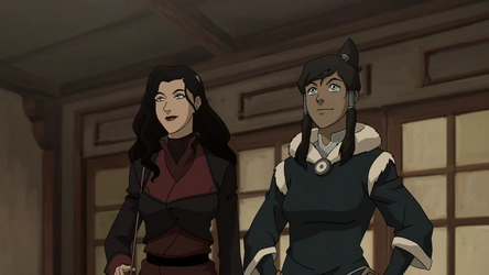 avatar wiki korra and asami relationship