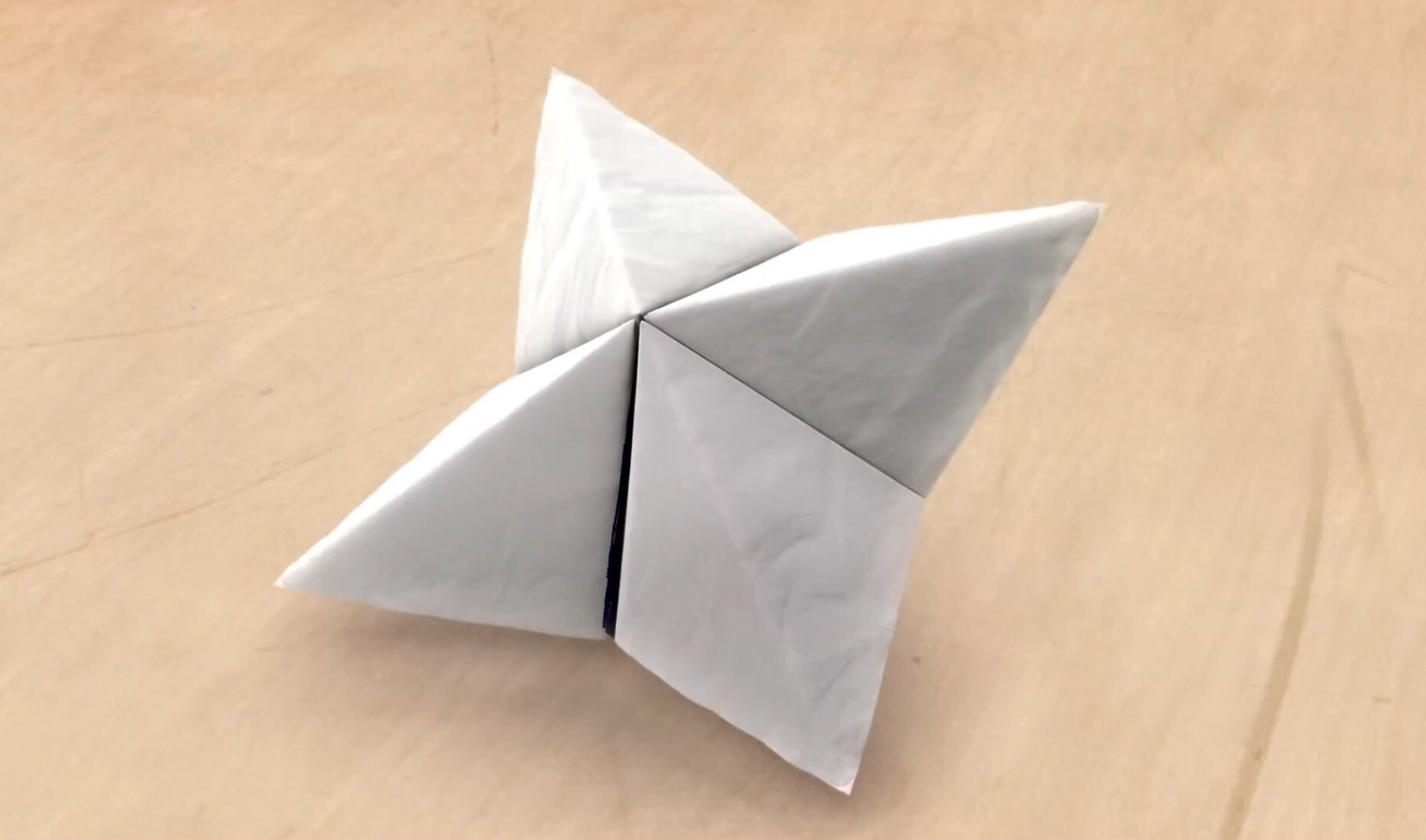 how to make a paper game fortune teller