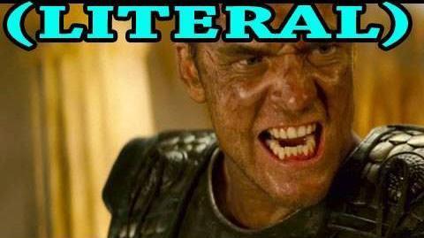 LITERAL Clash of the Titans Trailer Parody