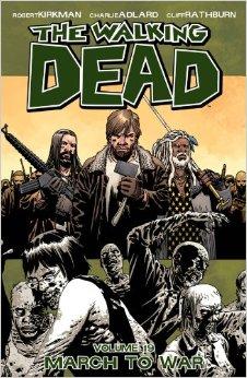 The walking dead comic book 7