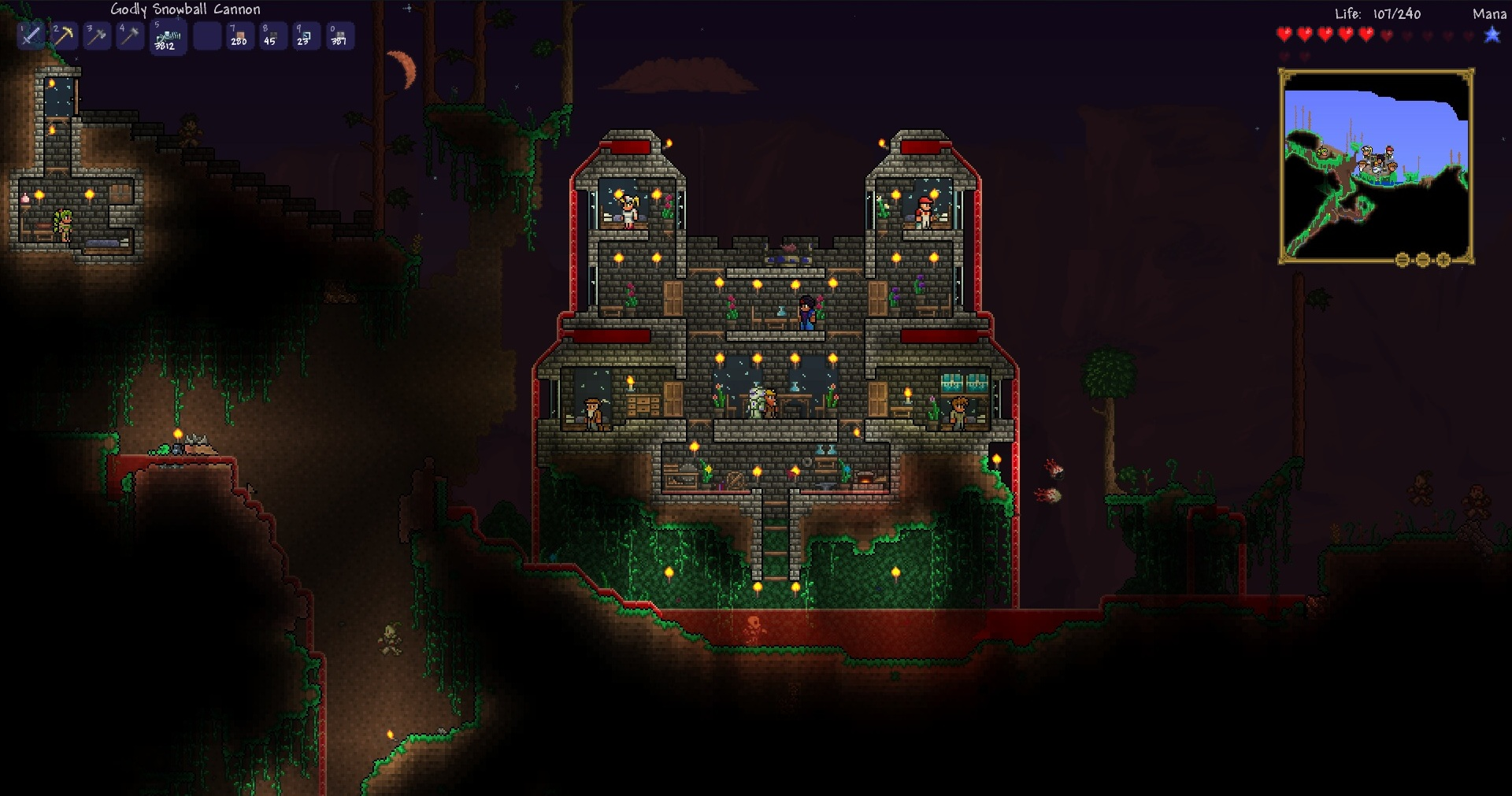 Crafting Area Disabled In Terraria