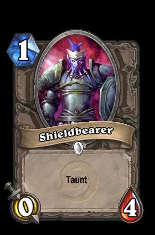 Hearthstone - Efeitos das cartas Shieldbearer2