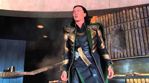 The Avengers Funniest Scene - Hulk Beats Up Loki