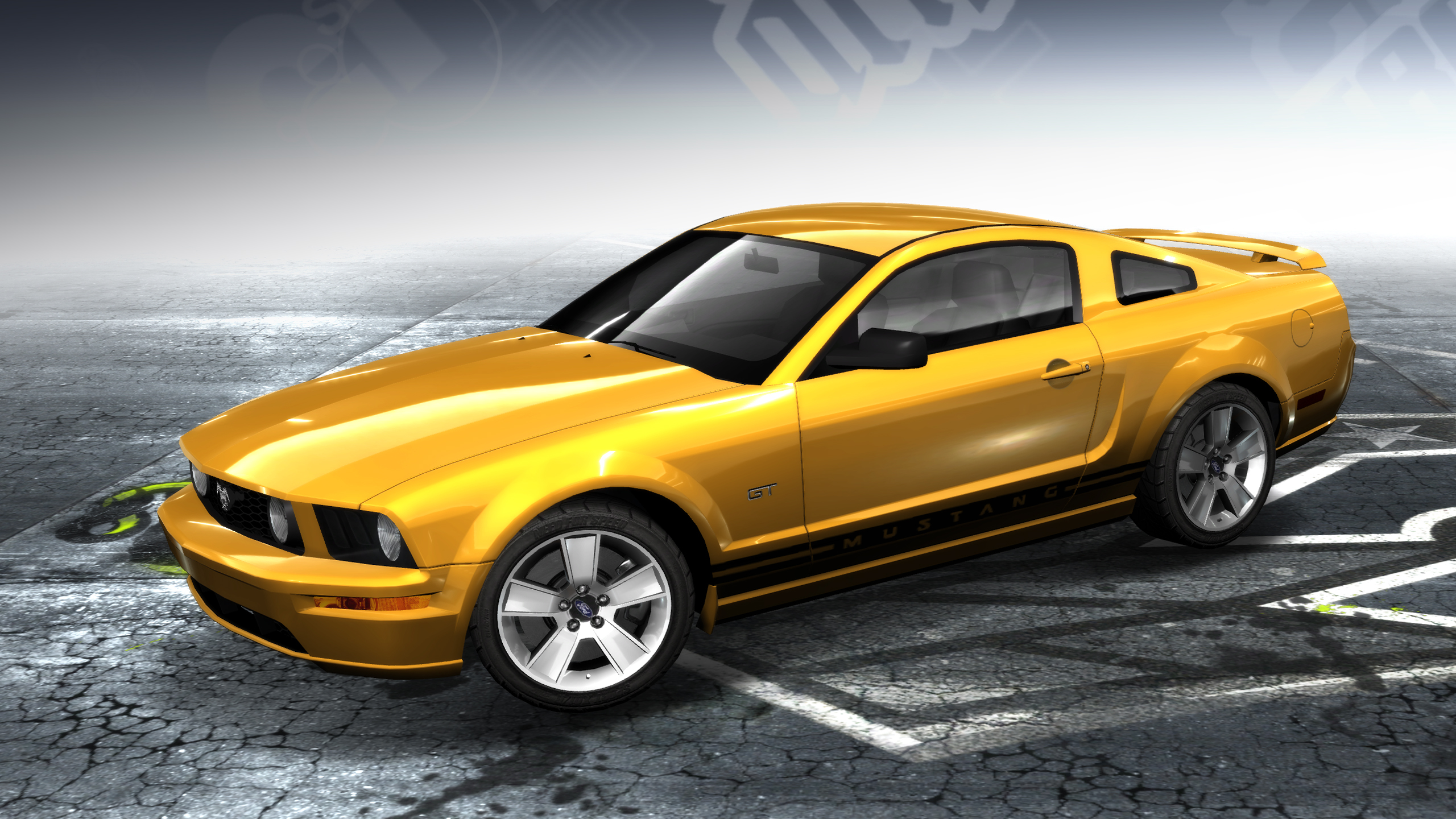 ford mustang gt 2005 at the need for speed wiki need for speed series information. Black Bedroom Furniture Sets. Home Design Ideas