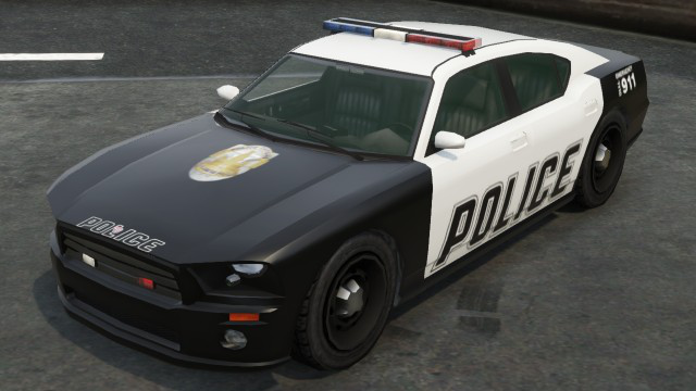 GTA 5 Police Buffalo