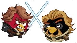 Angry birds star wars 2 hologram darth sidious