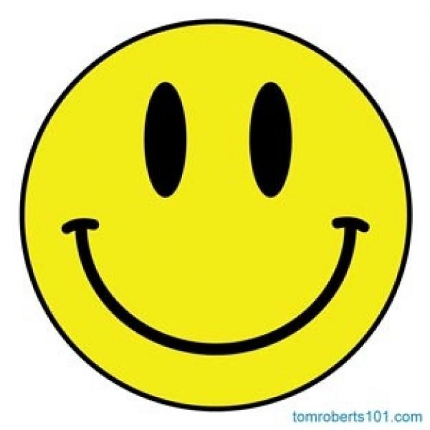 Happy-smiley-avec-des-coeurs-dans-les-jo