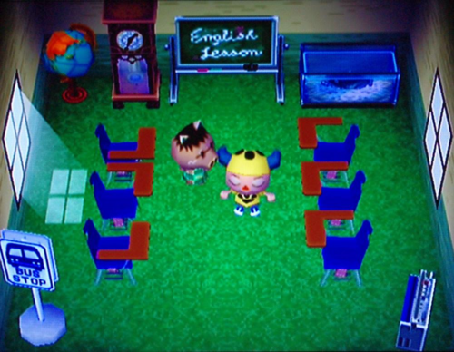 Justin animal crossing wiki for Extension maison animal crossing wild world