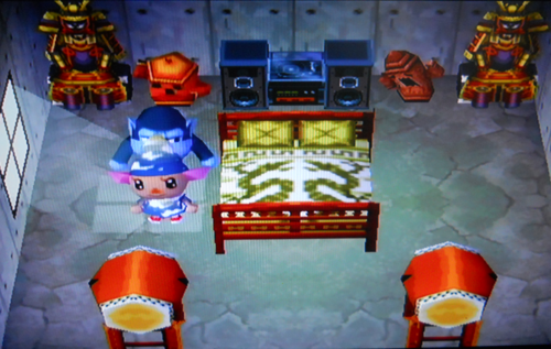 Gogo animal crossing wiki for Extension maison animal crossing wild world