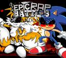 Antoinette Jones-Juin/Tails Doll vs Sonic.EXE