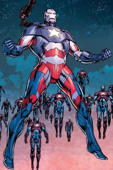 Iron Patriot Armor - Spider-Man Wiki - Peter Parker ...