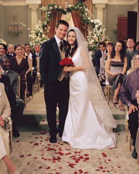 Friends Chandler And Monica Start Hookup