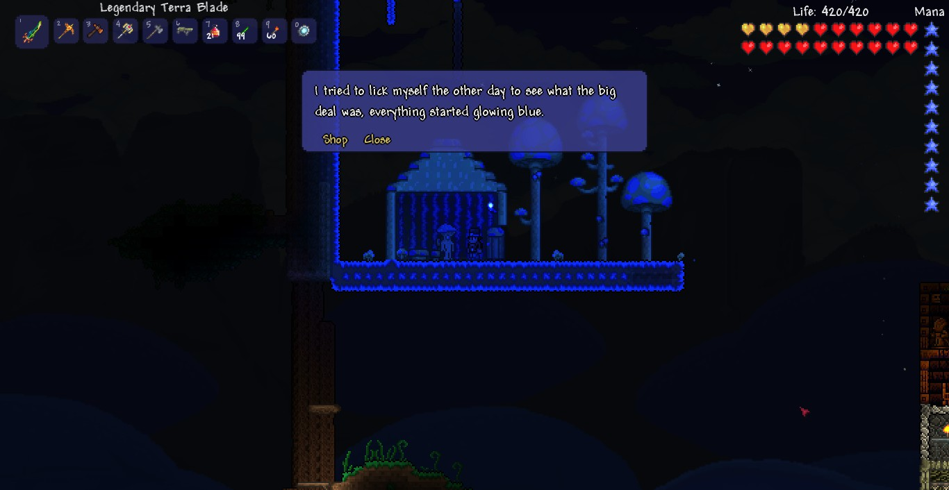 how to get the truffle npc in terraria