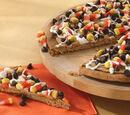 Halloween Cookie Pizza